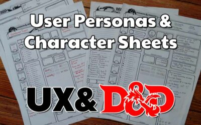 User Personas & Character Sheets